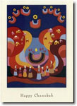 Indelible Ink Chanukah Card - Chanukah