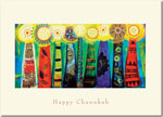 Indelible Ink Chanukah Card - Magical Menorah