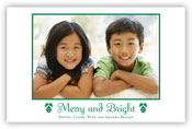 Holiday Photo Mount Cards by Boatman Geller (Classic Merry and Bright)