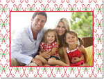 Boatman Geller Holiday Photo Mount Card - Candy Canes