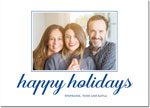 Boatman Geller - Letterpress Holiday Photo Mount Card (Aaron Happy Holidays)