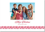 Boatman Geller - Letterpress Holiday Photo Mount Card (Berry Vine Merry Christmas)