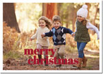 Digital Holiday Photo Cards by Boatman Geller - Poster Merry Christmas H