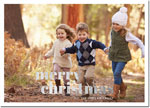 Digital Holiday Photo Cards by Boatman Geller - Poster Merry Christmas Foil H