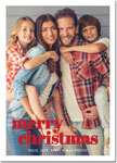 Digital Holiday Photo Cards by Boatman Geller - Poster Merry Christmas V