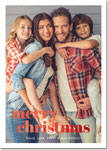 Digital Holiday Photo Cards by Boatman Geller - Poster Merry Christmas Foil V
