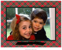 Boatman Geller Holiday Photo Mount Card - Red Plaid