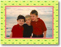Boatman Geller Holiday Photo Mount Card - Alligator