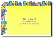 Paper People Holiday Cards - Interfaith Houses (PHOTO CARD)