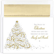 Masterpiece Studios - Pre-Printed Holiday Cards (Magic Of Christmas)
