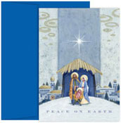 Masterpiece Studios - Pre-Printed Holiday Cards (Nativity Beneath The Star)