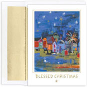 Masterpiece Studios - Pre-Printed Holiday Cards (Blessed City)
