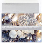 Masterpiece Studios - Pre-Printed Holiday Cards (Glittering Pines)