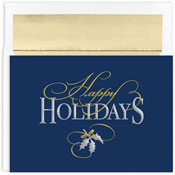 Masterpiece Studios - Pre-Printed Holiday Cards (Happy Holidays Tradition)