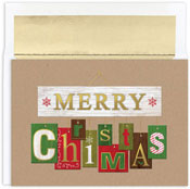 Masterpiece Studios - Pre-Printed Holiday Cards (Signs Of Christmas)