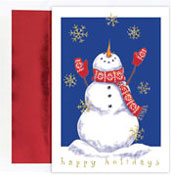 Masterpiece Studios - Pre-Printed Holiday Cards (Bring On The Snow)