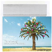 Pre-Printed Boxed Holiday Cards by Masterpiece Studios (Decorated Palm Tree)