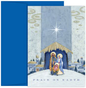 Pre-Printed Boxed Holiday Cards by Masterpiece Studios (Nativity Beneath The Star)
