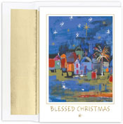 Pre-Printed Boxed Holiday Cards by Masterpiece Studios (Blessed City)