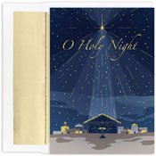 Pre-Printed Boxed Holiday Cards by Masterpiece Studios (O Holy Night)