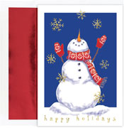 Pre-Printed Boxed Holiday Cards by Masterpiece Studios (Bring On The Snow)