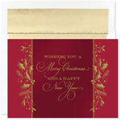 Pre-Printed Boxed Holiday Cards by Masterpiece Studios (Christmas Tradition)