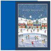 Pre-Printed Boxed Holiday Cards by Masterpiece Studios (Holiday Village)