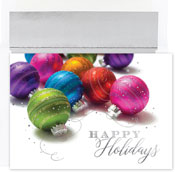 Pre-Printed Boxed Holiday Cards by Masterpiece Studios (Holiday Brights)