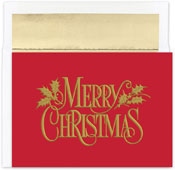 Pre-Printed Boxed Holiday Cards by Masterpiece Studios (Christmas Nostalgia)