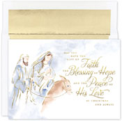 Pre-Printed Boxed Holiday Cards by Masterpiece Studios (Blessing Of Hope)