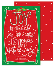 PicMe Prints - Holiday Greeting Cards (Joy To The World)