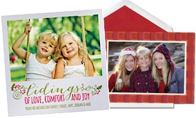 Photo Mount Holiday Cards