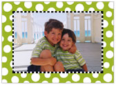 Stacy Claire Boyd - Holiday Photo Cards (Funky Dot - Green)