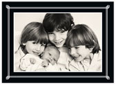 Stacy Claire Boyd - Holiday Photo Cards (Simply Framed - Black)