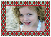 Stacy Claire Boyd - Holiday Photo Cards (Fleur de Lovely - Red)