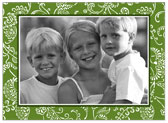 Stacy Claire Boyd - Holiday Photo Cards (Floral Fancy - Evergreen)