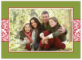 Stacy Claire Boyd - Holiday Photo Cards (Vintage Wrap - Chartreuse)
