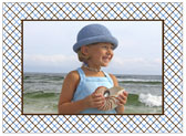 Stacy Claire Boyd - Holiday Photo Cards (Playful Plaid - Blue)