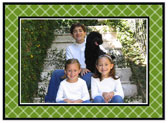 Stacy Claire Boyd - Holiday Photo Cards (Twin Trellis - Green)