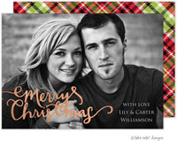 Take Note Designs Digital Holiday Photo Cards with Foil - Christmas Spirit