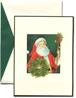 William Arthur Holiday Greeting Cards - Father Christmas