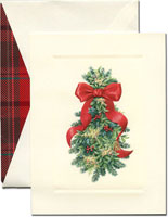 William Arthur Holiday Greeting Cards - Festive Swag