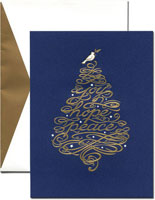 William Arthur Holiday Greeting Cards - Dove Tree