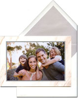 Vera Wang Holiday Photo Mount Cards - Calcatta
