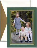 William Arthur Holiday Photo Mount Cards - Imperial Pine