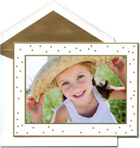 William Arthur Holiday Photo Mount Cards - Celebration