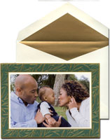 William Arthur Holiday Photo Mount Cards - Emerald Hailey
