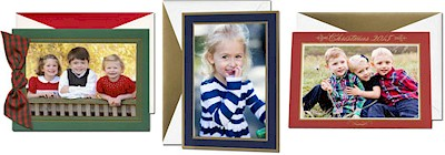 Holiday Photo Mount Cards by Designer: More Than Paper