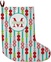 Lavender Belle Stocking (Holiday Dot)