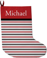 Lavender Belle Stocking (Merry And Bright Red and Black)